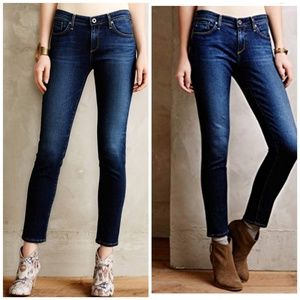 AG Stevie Ankle Slim Straight Jeans